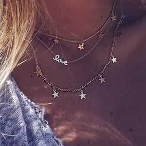 Jewelry - Love Stars ✶ Necklace
